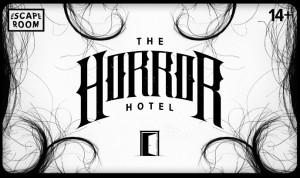 Horror Hotel siaubo pabėgimo kambarys Vilniuje