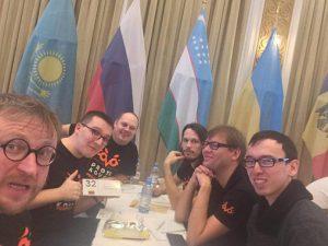 """Edvino Stankevič komanda """"Kas? Kur? Kada?"""" pasaulio čempionate"""